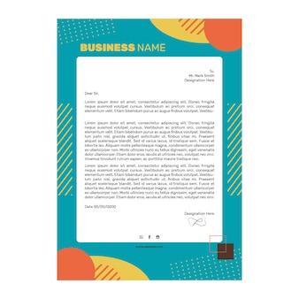 Modèle de lettre commerciale