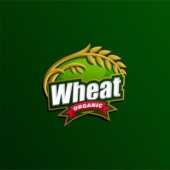 Modèle de logo d'agriculture