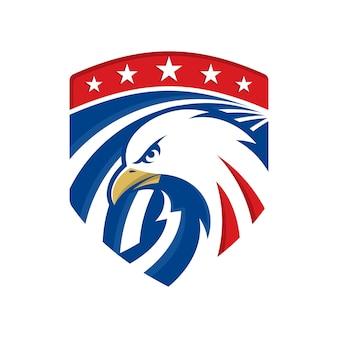Modèle de logo aigle