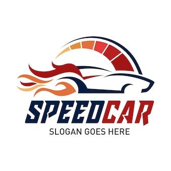 Modèle de logo automobile. logo d'icône de voiture