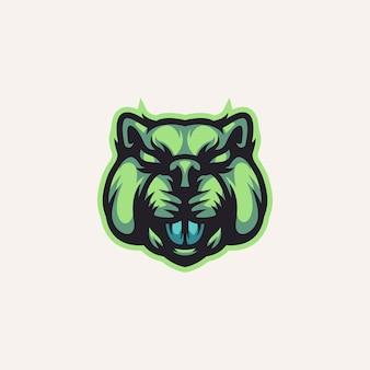 Modèle de logo beaver
