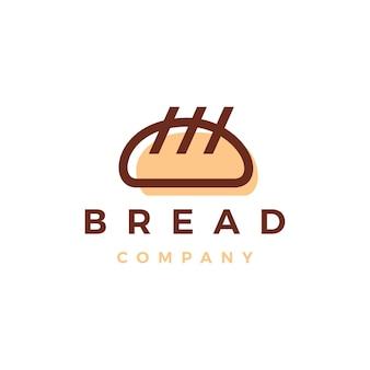 Modèle de logo de boulangerie de pain