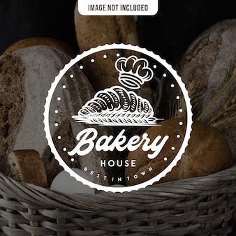 Modèle de logo de boulangerie