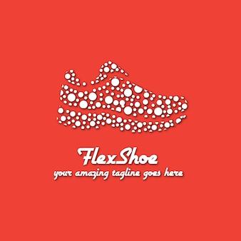 Modèle de logo de chaussures