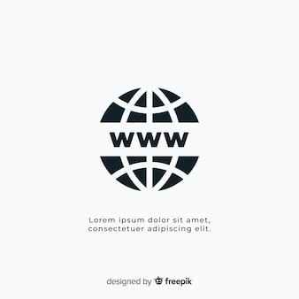 Modèle de logo de conectivité moderne