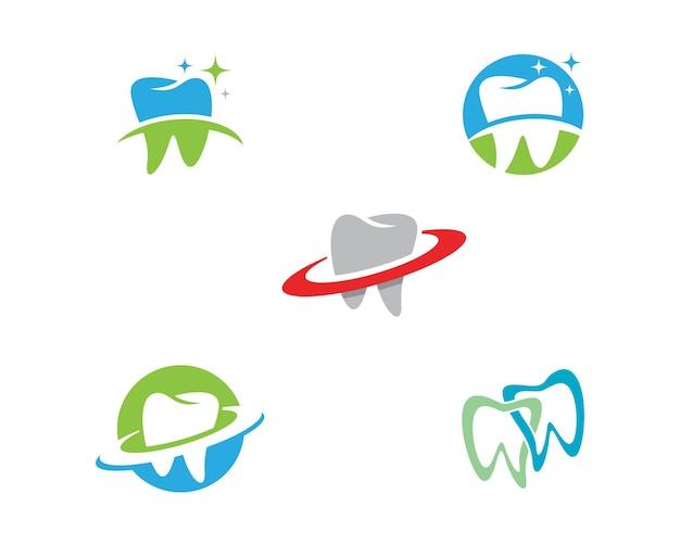 Modèle de logo dentaire