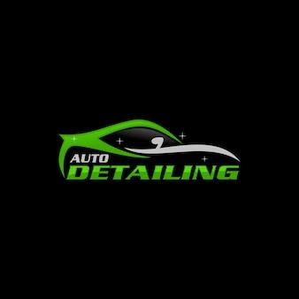Modèle de logo détaillant automatiquement