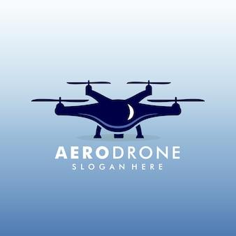 Modèle de logo de drone