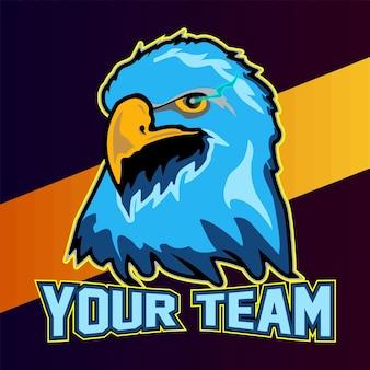 Modèle de logo e sport pour votre équipe