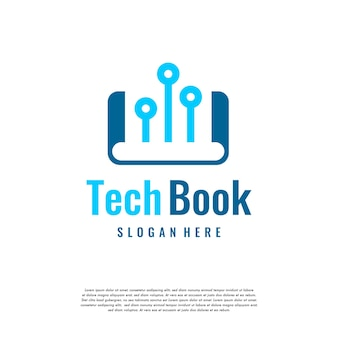 Modèle de logo d'éducation en ligne, modèle de logo d'éducation de livre pixel conçoit illustration vectorielle