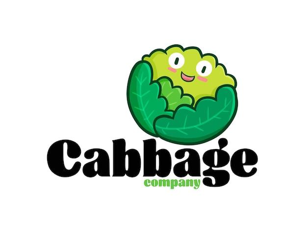 Modèle de logo d'entreprise de chou drôle