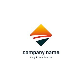 Modèle de logo d'entreprise.