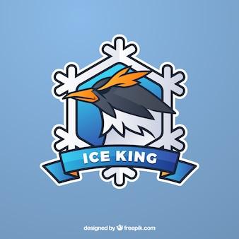 Modèle de logo de l'équipe e-sports avec oiseau