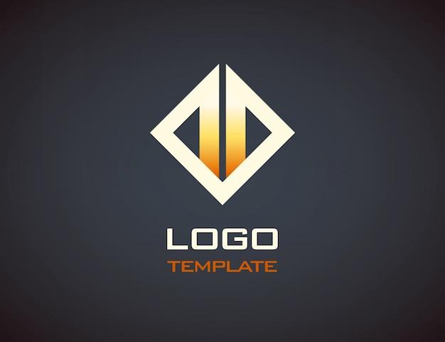 Modèle de logo de feu.