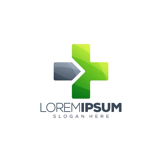 Modèle de logo flèche