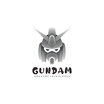 Modèle de logo gundam