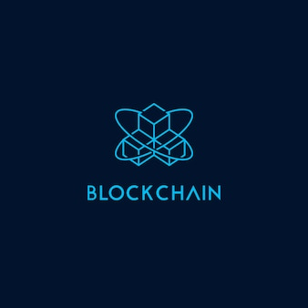 Modèle de logo icône chaîne