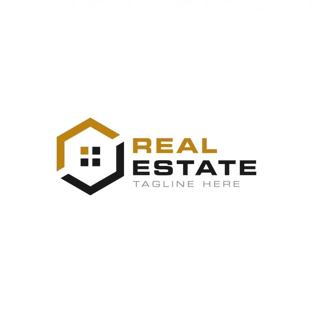 Modèle de logo immobilier