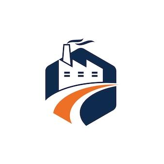 Modèle de logo de l'industrie