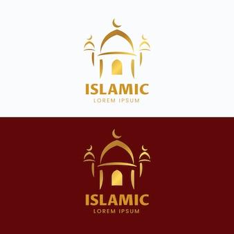 Modèle de logo islamique