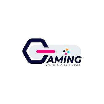 Modèle de logo de jeu