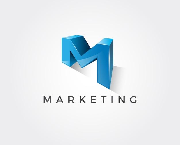 Modèle de logo lettre r minimal