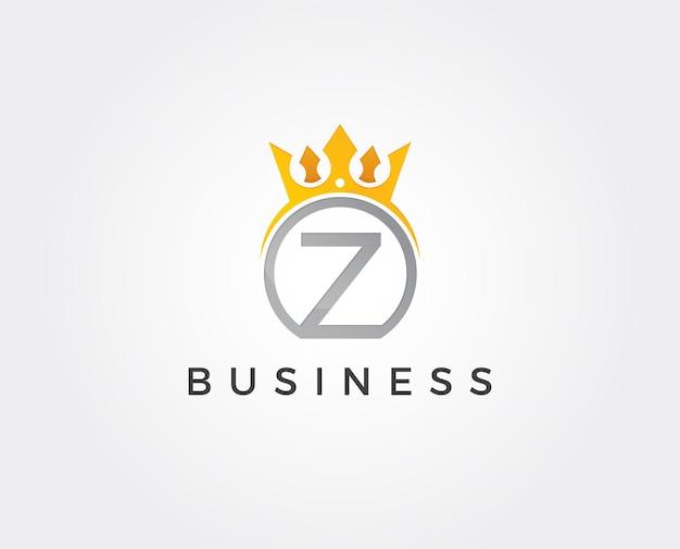 Modèle de logo lettre z minimal