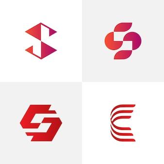 Modèle de logo de lettre