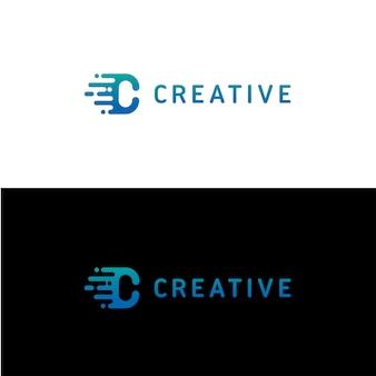 Modèle De Logo Lettre C Vecteur Premium