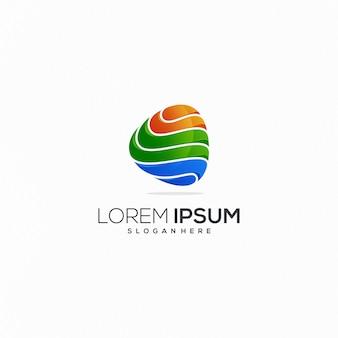 Modèle de logo ou logo moderne. inspiration identité de marque