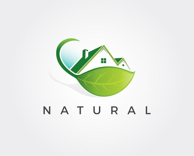 Modèle de logo de maison minimal