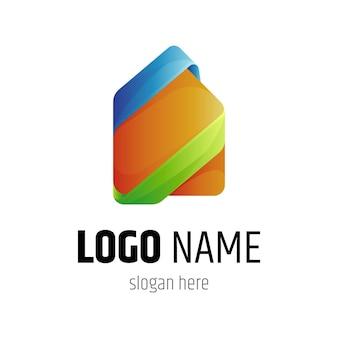 Modèle de logo de maison simple