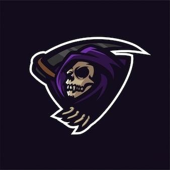 Modèle de logo de mascotte de jeu esport