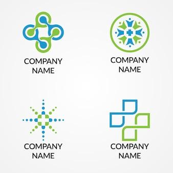 Modèle de logo médical