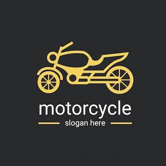 Modèle de logo de moto