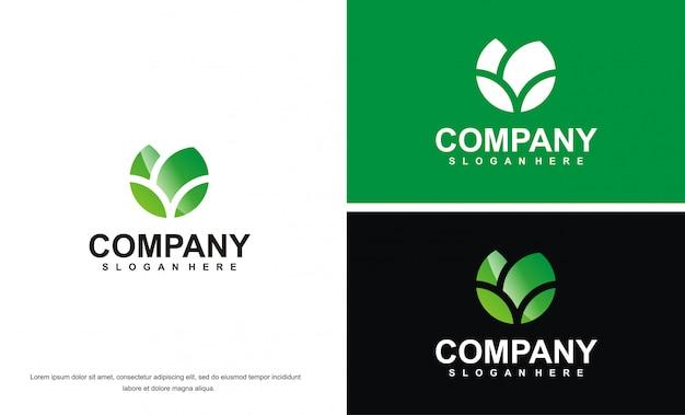 Modèle de logo papillon moderne