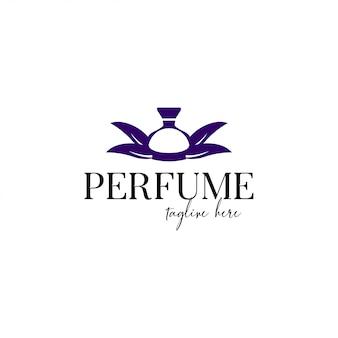 Modèle de logo de parfum