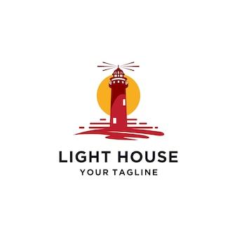 Modèle de logo phare