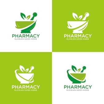 Modèle de logo de pharmacie