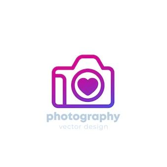 Modèle de logo de photographie