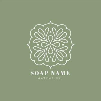 Modèle de logo de savon