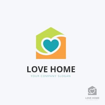 Modèle de logo de soins à domicile.