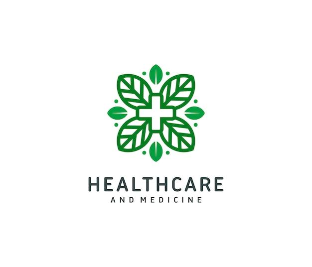 Modèle de logo de soins de santé et de médecine