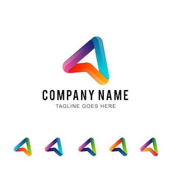 Modèle de logo de transport