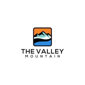 Modèle de logo de vallée