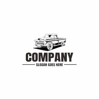 Modèle de logo de véhicule. icône de voiture pour les entreprises. location, réparation, garage d'atelier.