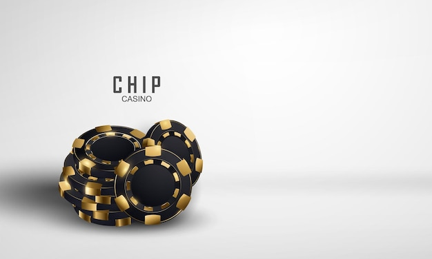 Modèle de luxe de casino de pièces de monnaie