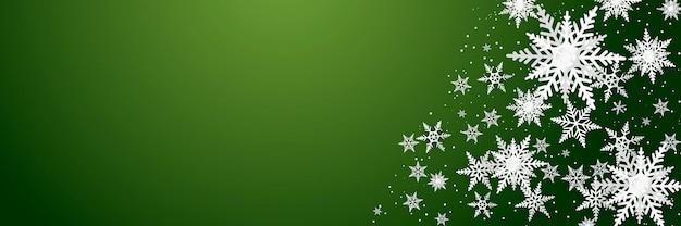 Modèle de luxe de flocons de neige sur fond bleu. design moderne pour le matériel de fond de noël, hiver ou nouvel an, décoration abstraite de flocon de neige pour carte de voeux, bannière de vente