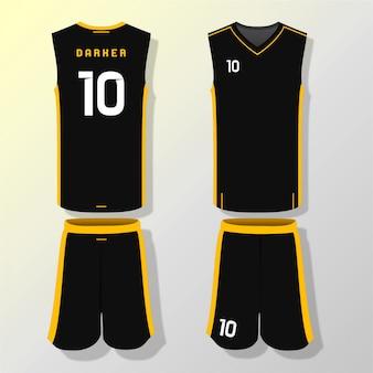 Modèle de maillot de basket
