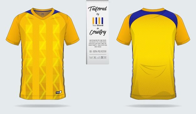 Modèle de maillot de foot ou kit de football